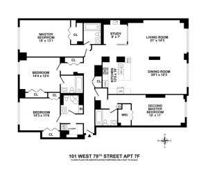 101 W 79 th St Floorplan_
