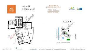 Floor Plan Apt 1207