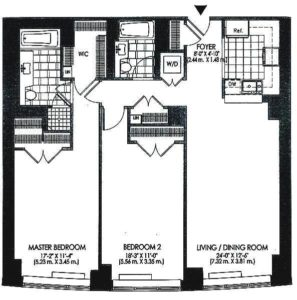 floor plan apt 7L