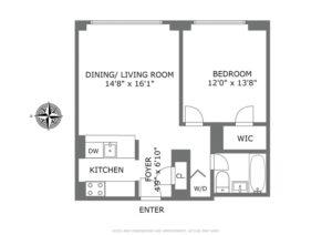 Floor plan for 15V